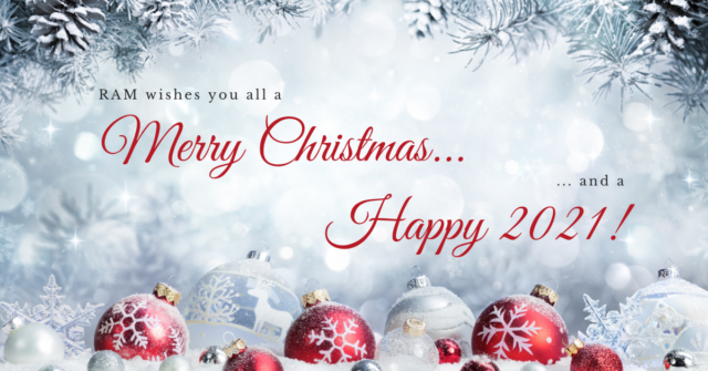 Merry Christmas and a Happy New Year - Christmas holidays closure